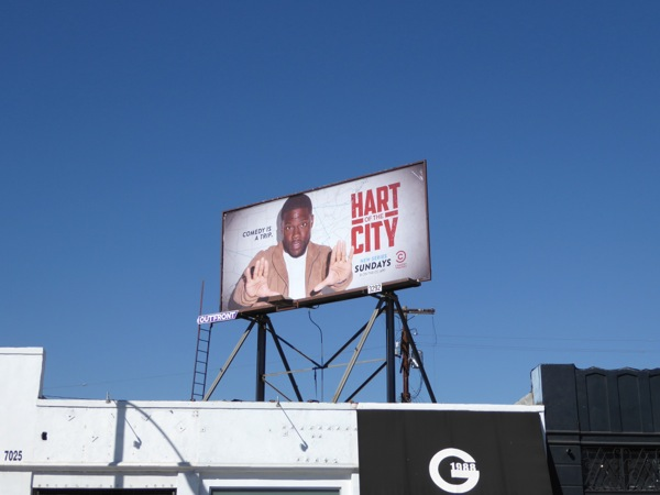 Hart of the City TV series billboard