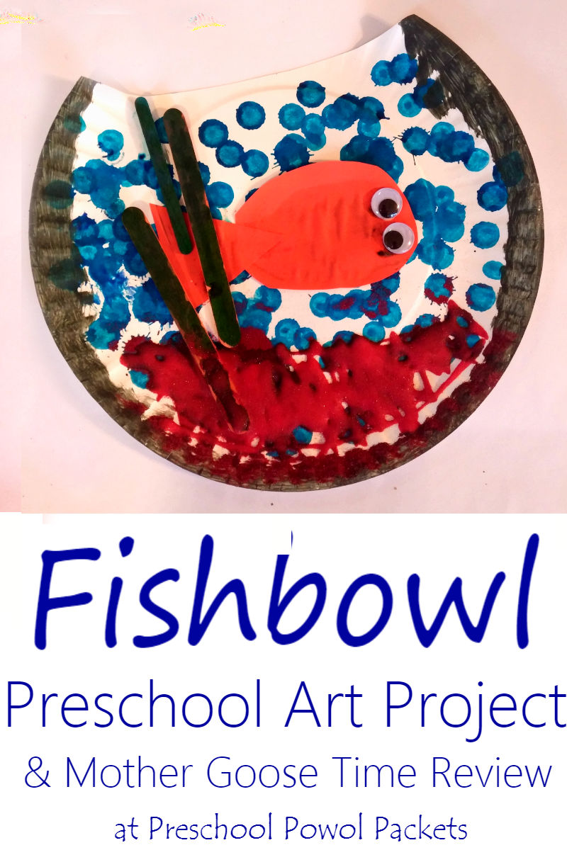 Fishbowl preschool craft mother goose time curriculum review they sent us a complete month long set as well as the classroom items you would get if you ordered from them the first craft we did was the fishbowl from fandeluxe Gallery