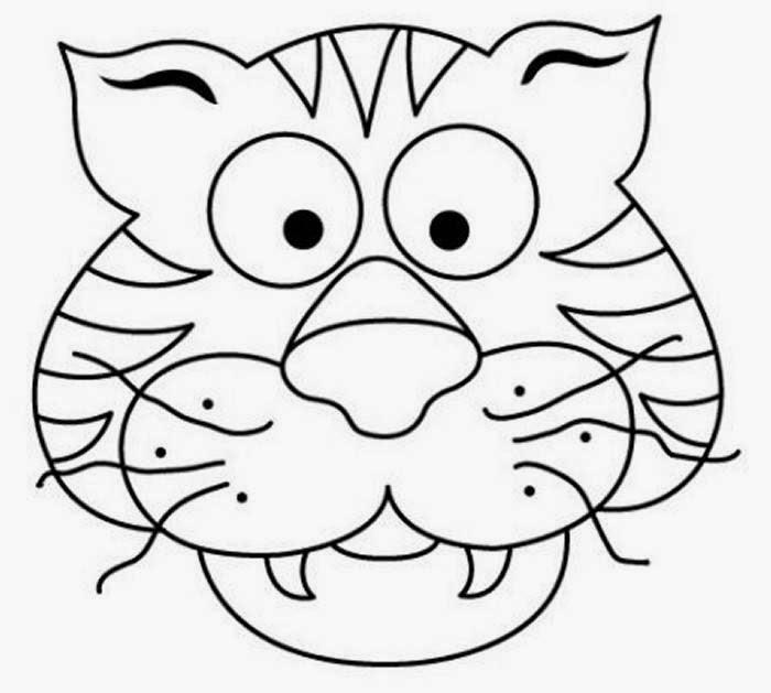 Maestra de Infantil: Animales salvajes para colorear