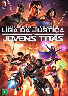 Liga da Justiça vs. Jovens Titãs - BDRip Dual Áudio