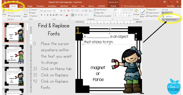 Steps to Finding & Replacing Fonts in PowerPoint