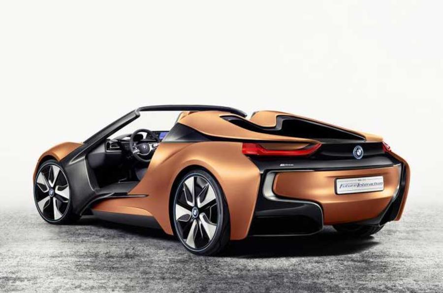 BMW i8 spyder roadster