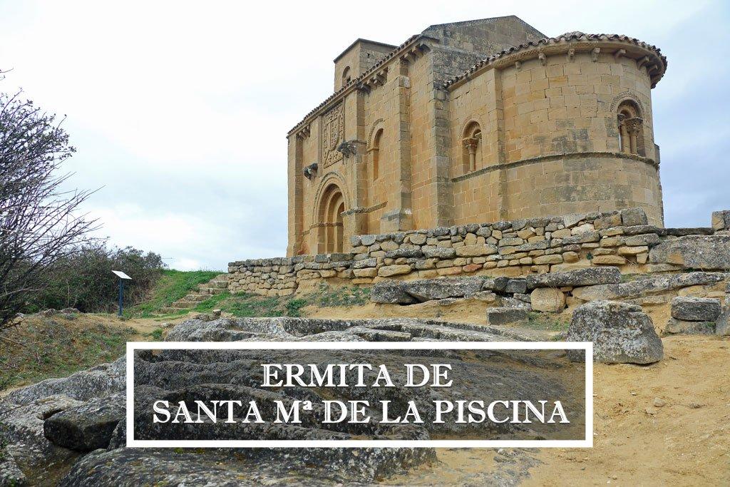 Ermita de Santa María de la Piscina, románico en estado puro, La Rioja