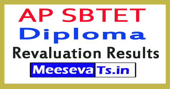 AP SBTET Diploma Revaluation Results 2017