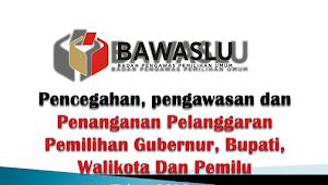 Download Materi Pencegahan, Pengawasan Dan Penanganan Pelanggaran Pemilihan Gubernur, Bupati, Walikota Dan Pemilu