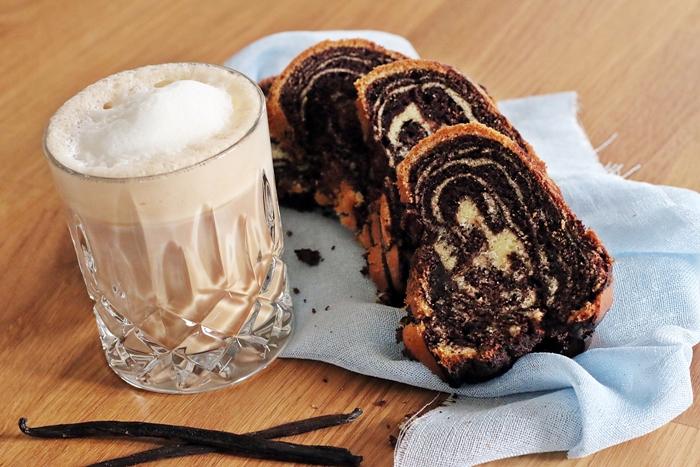 Zebra Marmorkuchen Mit Schoko Kaffee Swirl Fashion Kitchen