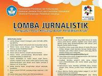 Lomba Jurnalistik 2017 tentang Pendidikan Keluarga