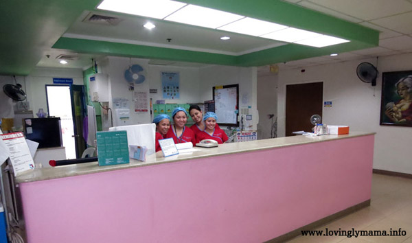 Riverside Hospital baby friendly complex - rooming in - childbirth - Bacolod hospital