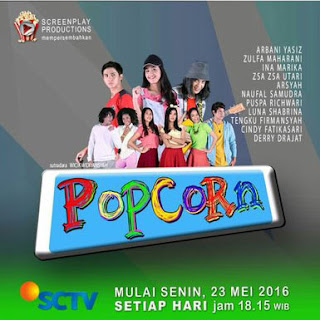 Zulfa Maharani Putri Bintang Utama Sinetron Popcorn SCTV
