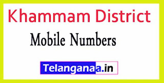 Bonakal Mandal Sarpanch Wardmumber Mobile Numbers List Part I Khammam District in Telangana State