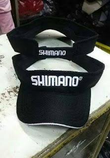 Topi Mancing Visor Merk Shimano