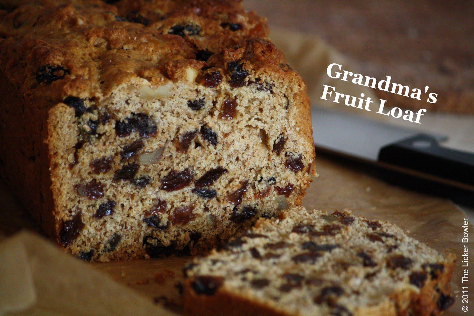 Fruit Cake Recipe Loaf Pan: Grandma's Fruit Loaf...