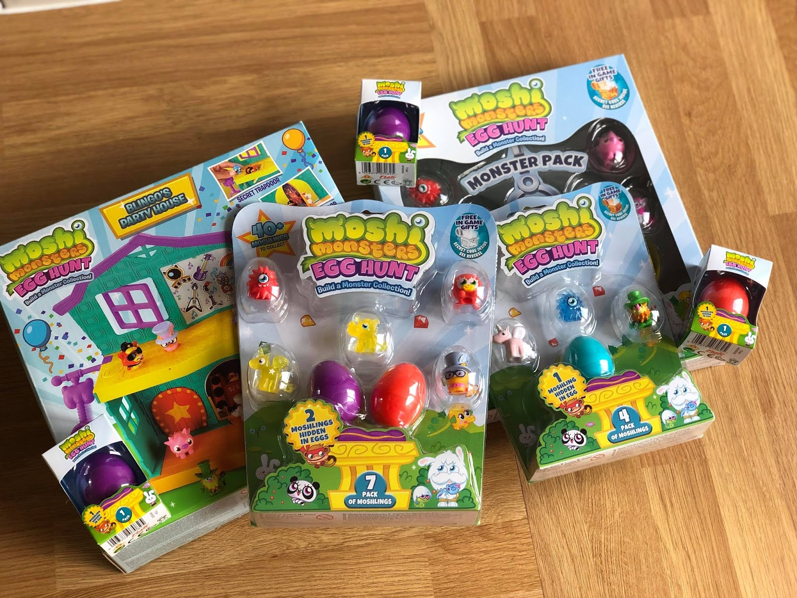 Chic Geek Diary Moshi Monsters Egg Hunt Toys Review Giveaway
