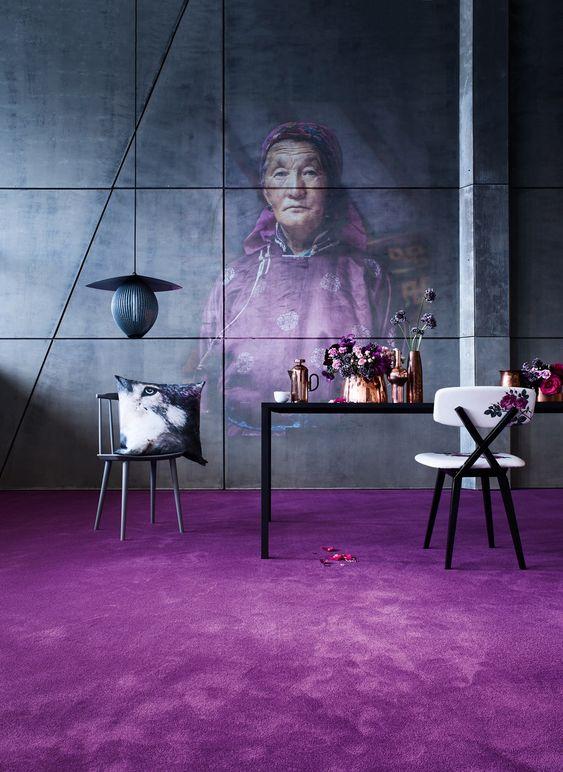 Ultraviolet interiors