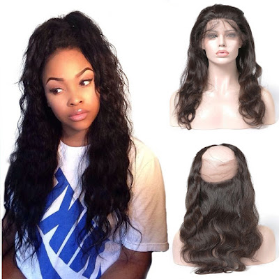 Pre Plucked 360 Lace Frontal 22*4*2 Body Wavy 6A Brazilian