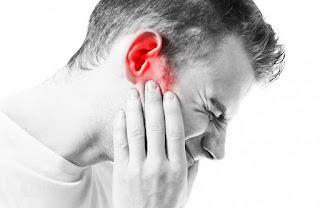 nyeri/sakit telinga ketika menelan