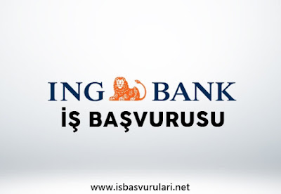ING Bank iş başvurusu