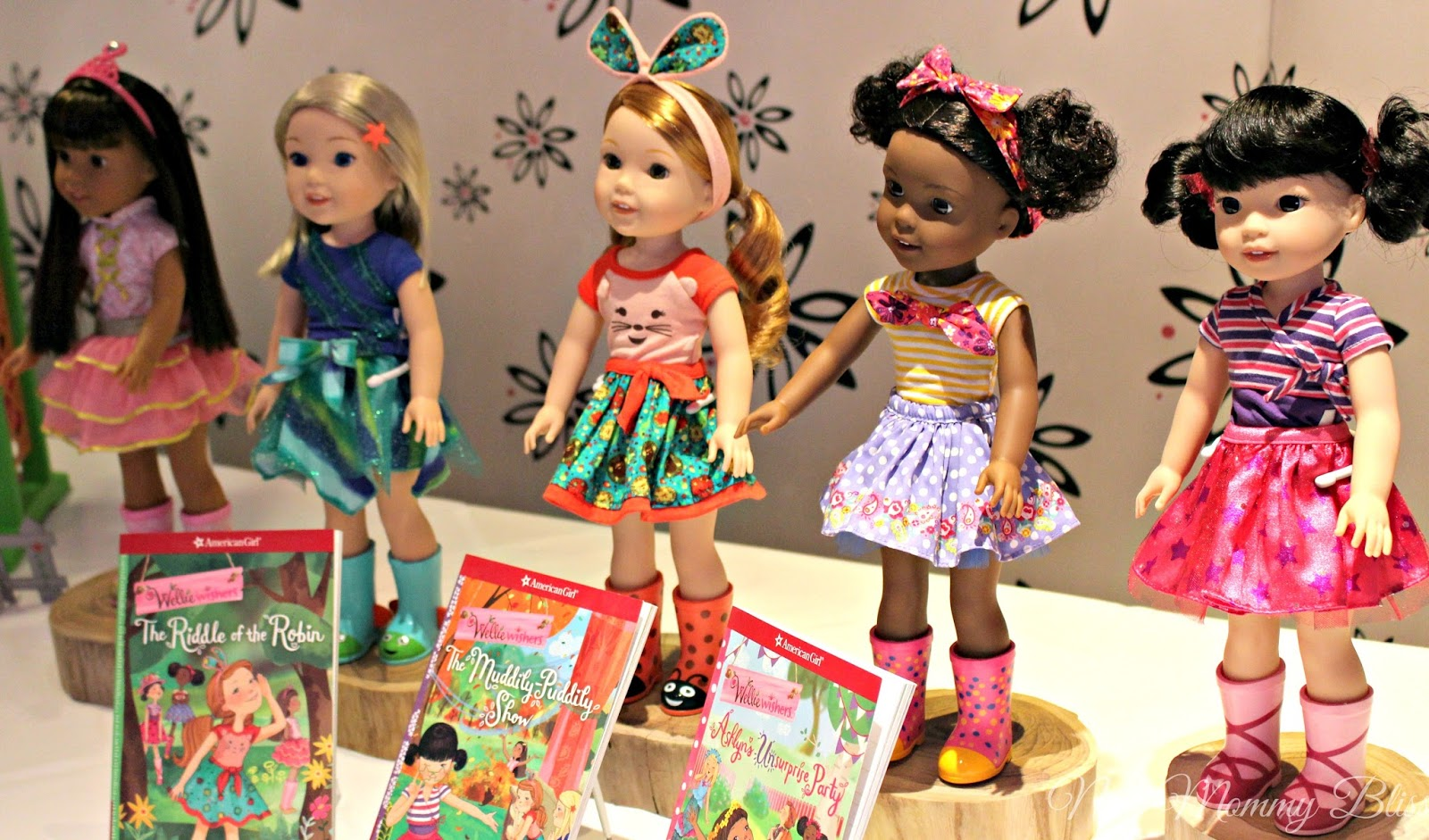 The second I stepped foot onto the 3rd floor of the American Girl store to  view the WellieWishers dolls 5806e75c5