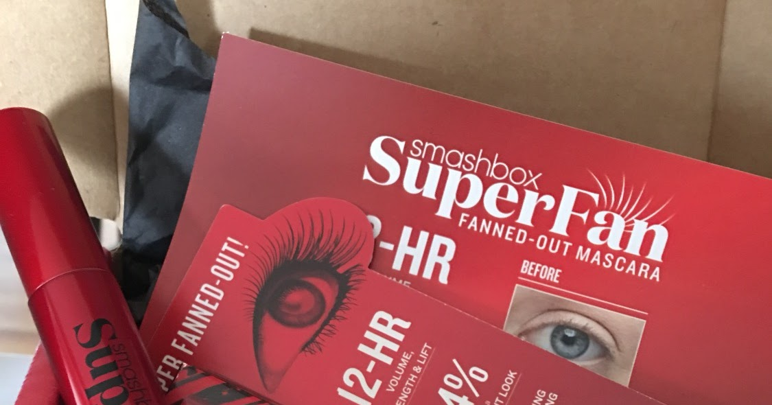 SMASHBOX SUPERFAN MASCARA REVIEW COMPLIMENTARY FROM INFLUENSTER