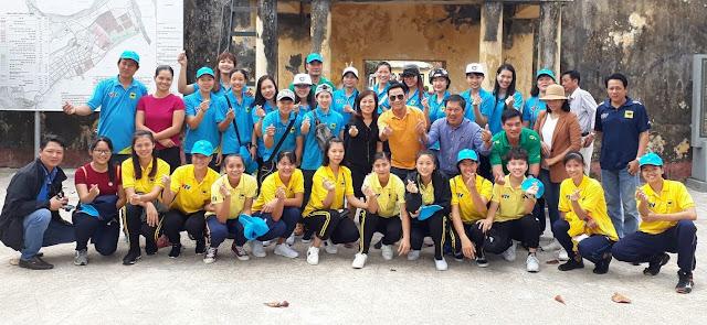 ĐKVĐ nữ VTV Bình Điền Long An tập huấn và thi đấu ở Đài Bắc