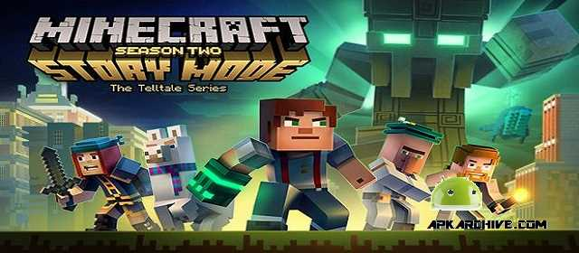 Minecraft Stroy Mode Season TWO android apk indir