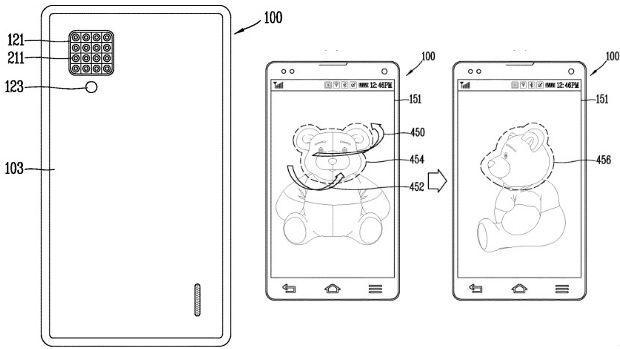 El celular de LG con 16 cámaras traseras