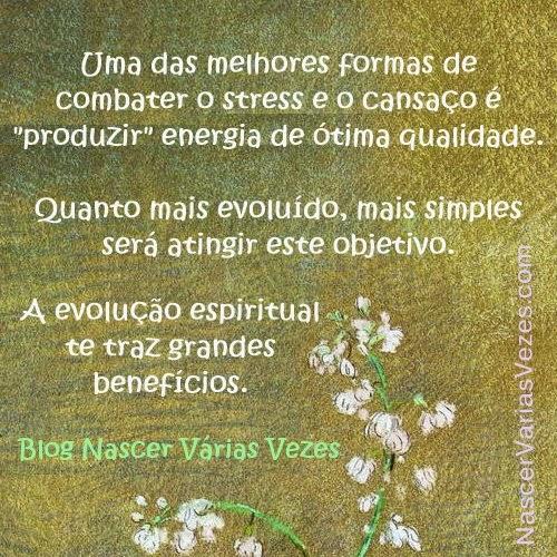 A evolução espiritual traz grandes benefícios