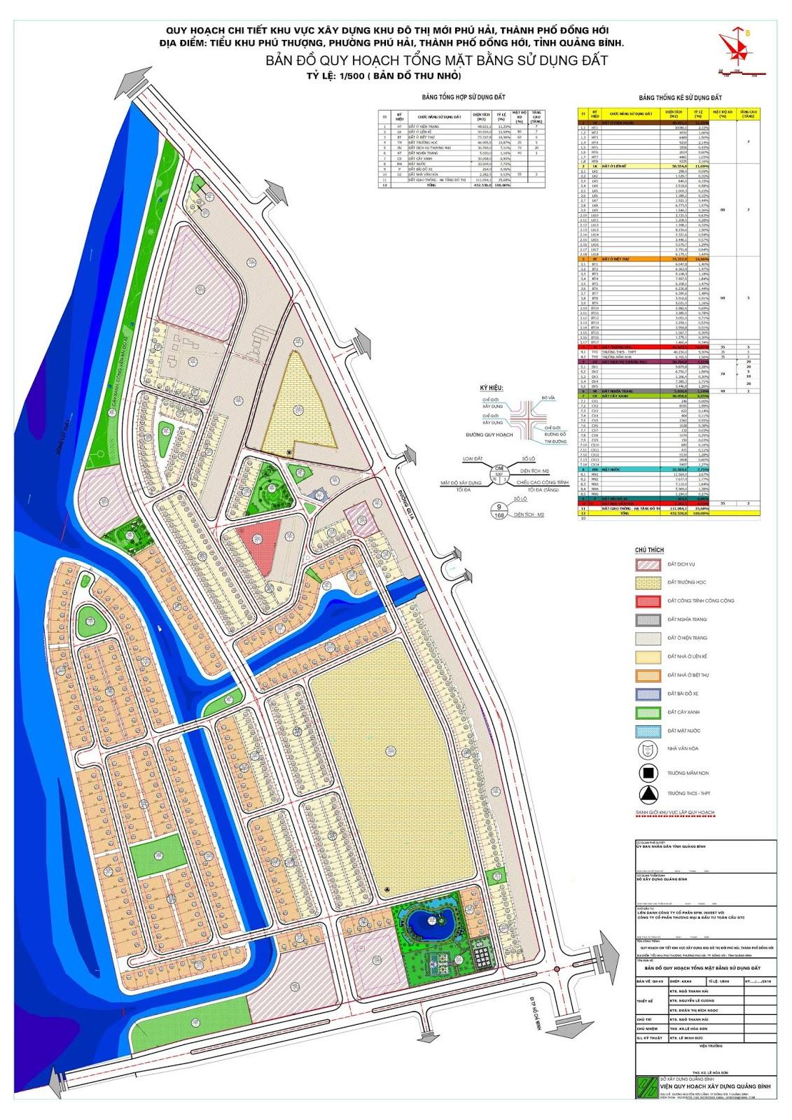 Mặt bằng phân khu, phân khu dự án Phú Hải RiverSide