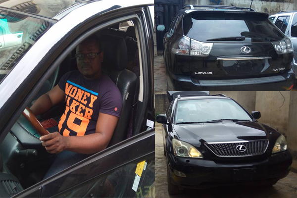 """I Started My Business With A Successful Mind"" - Popular Internet Marketer Ademiluyi Adegboyega Welcomes A Lexus RX330 Car"