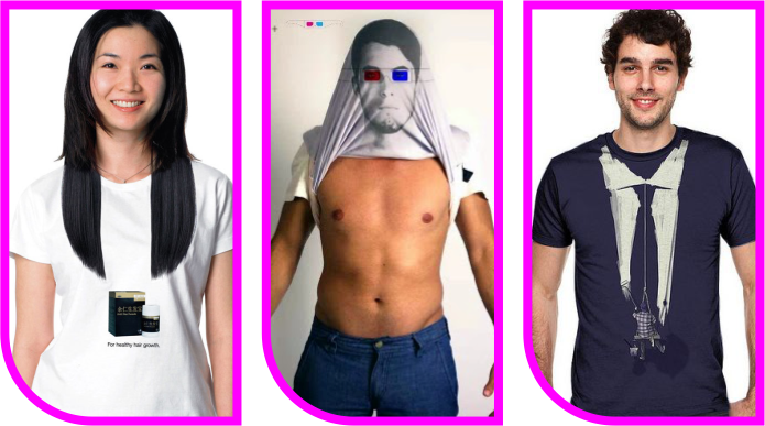 Desain Sablon Kaos Unik