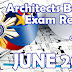 ARCHITECTS Board Exam Result June 2017