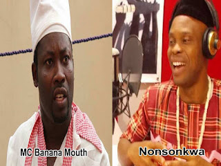 Pluto Planet Frown As MC Banana Mouth & NonsoNkwa Fights Dirty 1