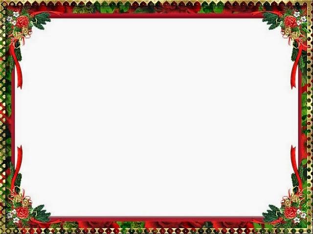 Holly Free Printable Borders And Frames For Christmas
