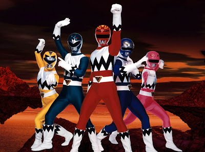 Power Rangers da Galaxia Perdida