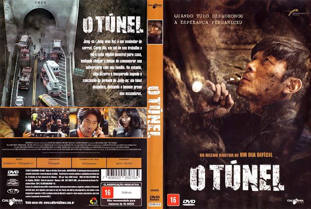 Capa DVD O Túnel (Oficial)