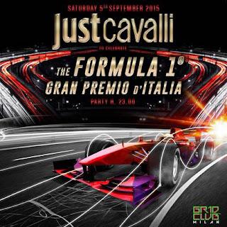 """SATURDAY 5 SEPTEMBER 2015 """"F1 Gran Premio d'Italia Party"""""""