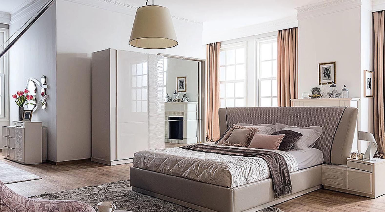 افضل واجمل غرف نوم مودرن حديثة للعرسان 2019 بالصور غرف نوم كامله
