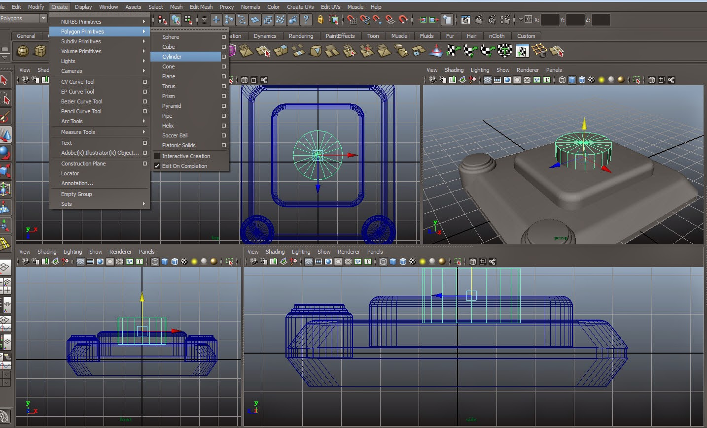 Joystick Modeling 022