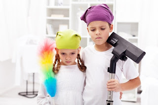 Spring Cleaning with kids tips