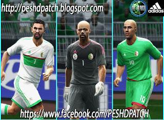 طقم المنتخب الجزائري بيس 2013 - PES 2013 - Algeria Afcon 2017 Kits