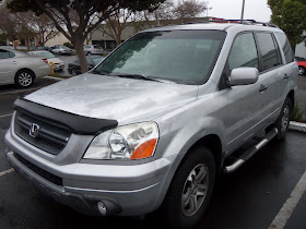 Auto body collision repair car paint in fremont hayward union city 2003 honda pilot that had a do it yourself paint job that we fixed solutioingenieria Images