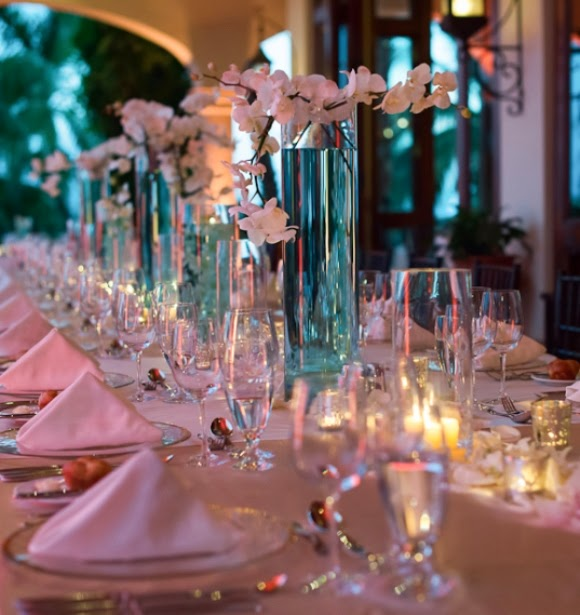 Beach Wedding Reception Ideas: Weddingzilla: Tiffany Blue Still Rocks For Weddings