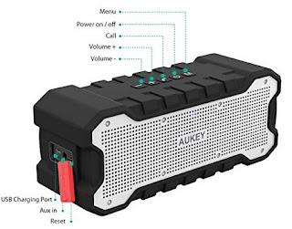 Altoparlante Bluetooth portatile 10 Watt AUKEY: RECENSIONE