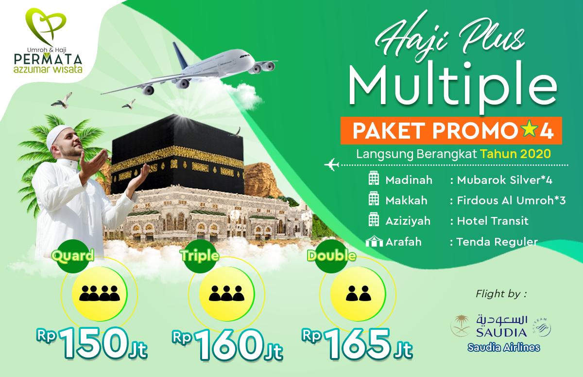 Biaya Haji Plus Langsung Berangkat Tahun 2020 Paket Promo