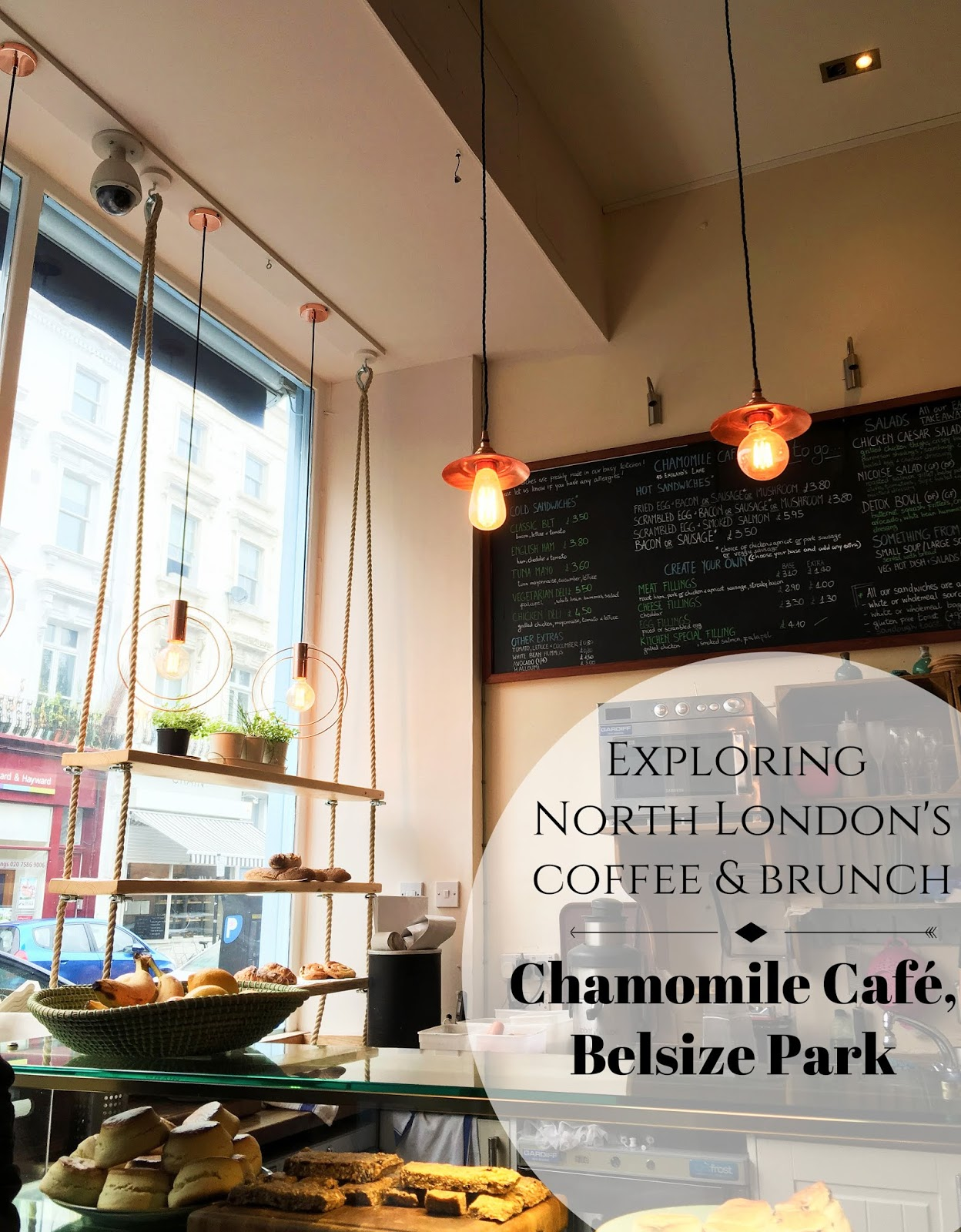 Brunch at Chamomile Cafe, Belsize Park
