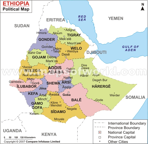 Map for ethiopia ethiopia map gumiabroncs Image collections