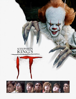 IT 1990 v 2017 Movie Poster Concept