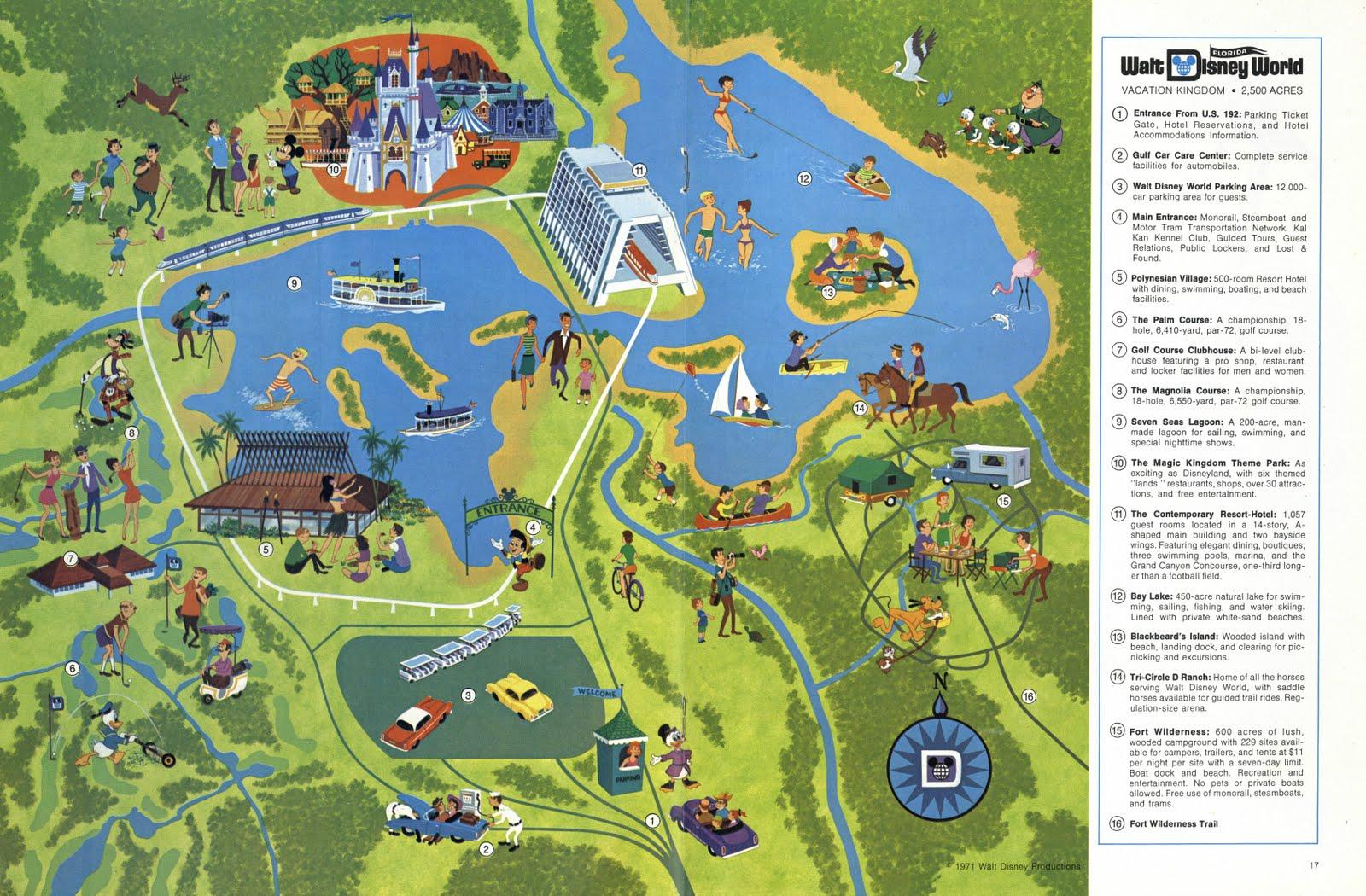 Vintage Disneyland Tickets Walt Disney Word Vacationland