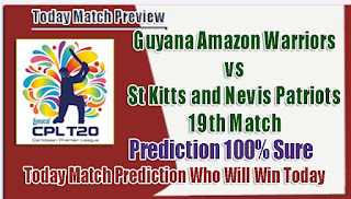CPL Today Match Prediction
