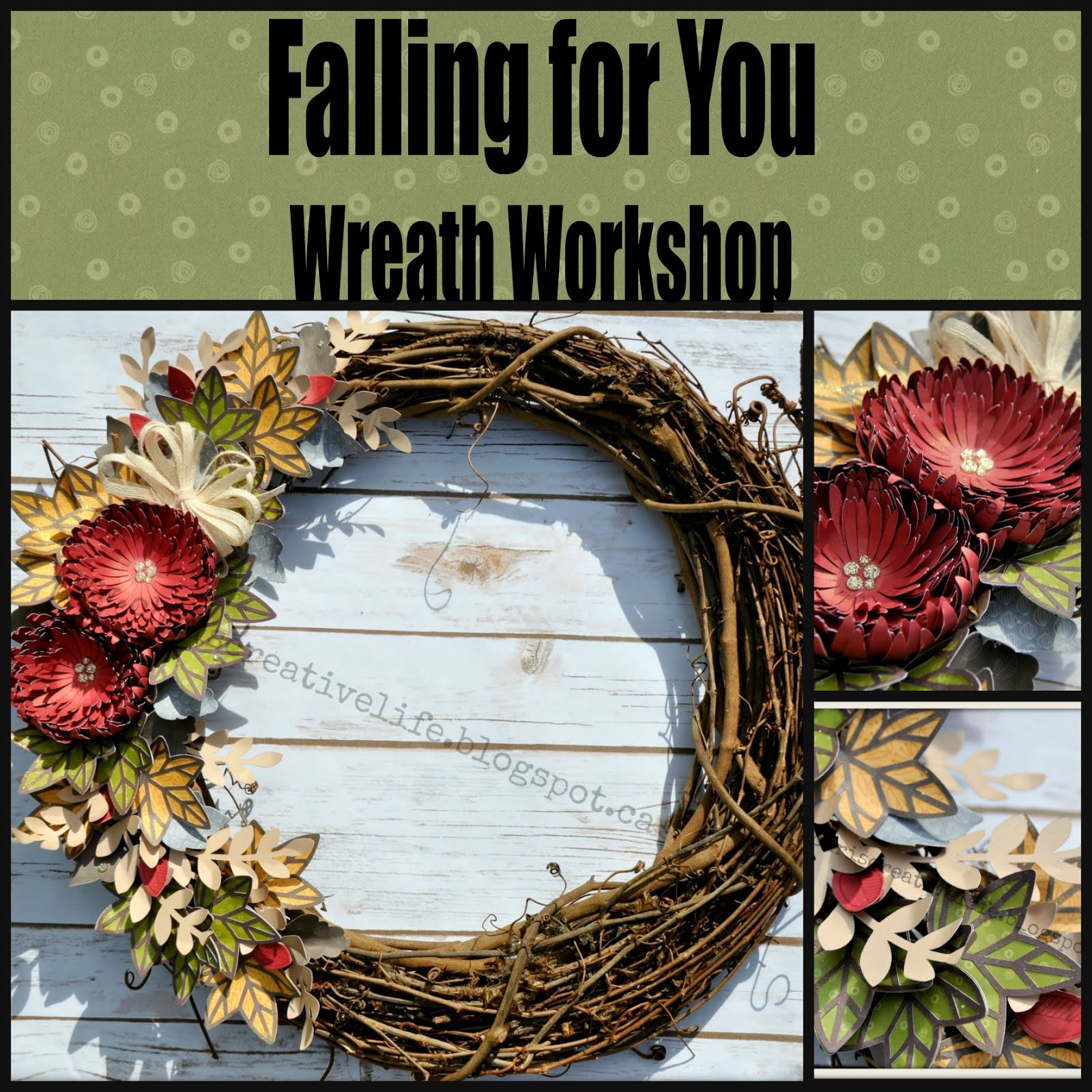 Falling for You Wreath Workshop